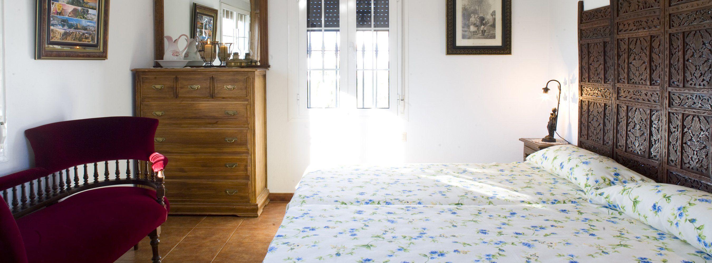 bedroom one in ronda