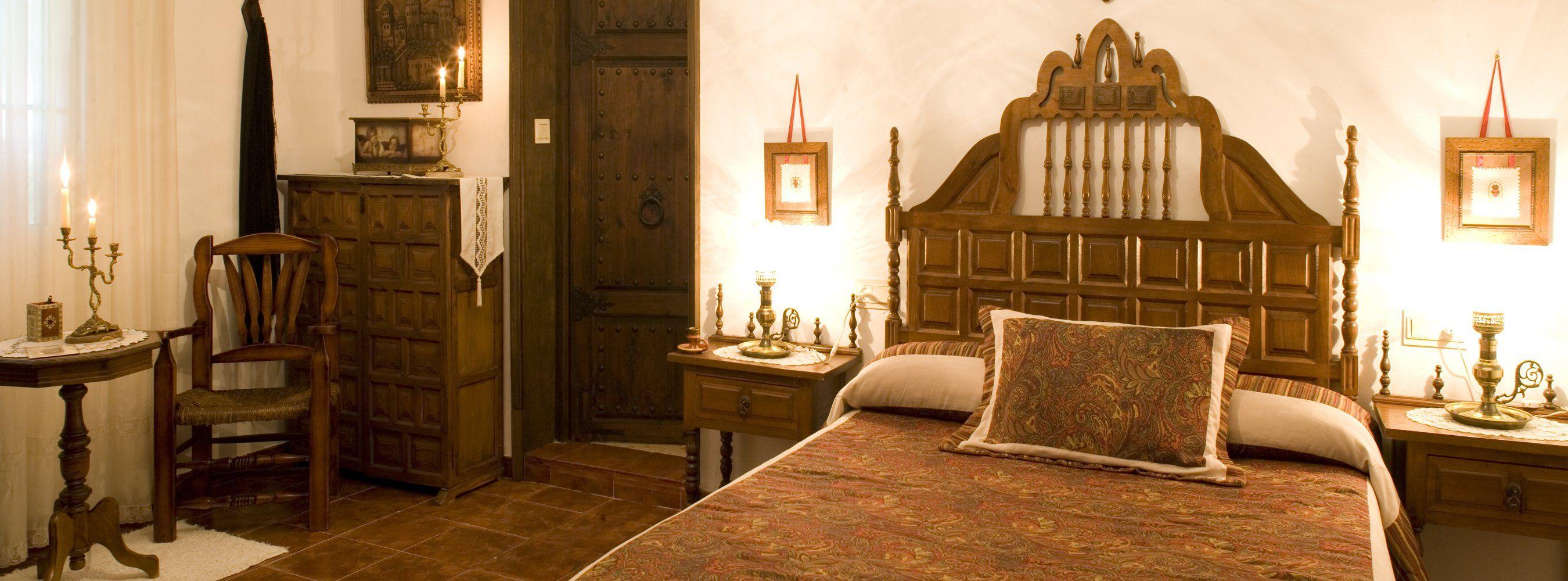 main bedroom holiday villa andalucia