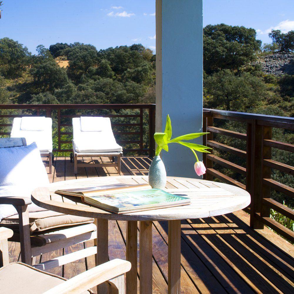 luxury villa terrace