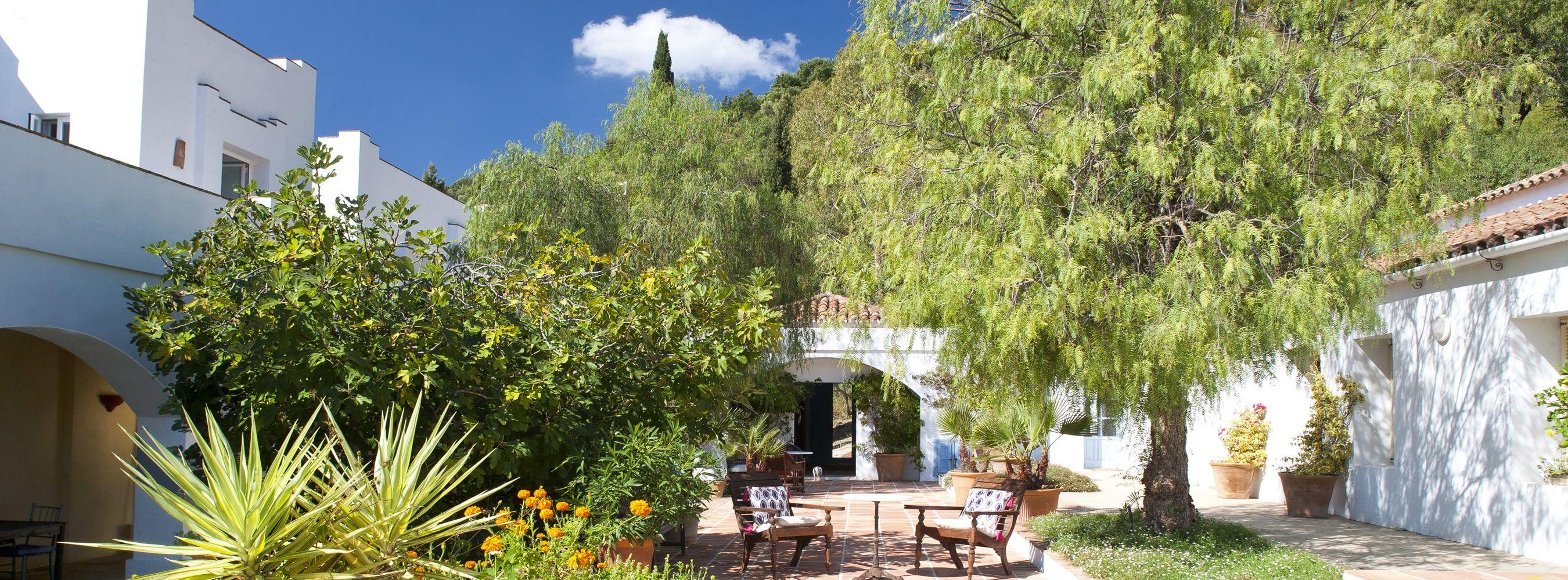 luxury holiday villa gaucin spain