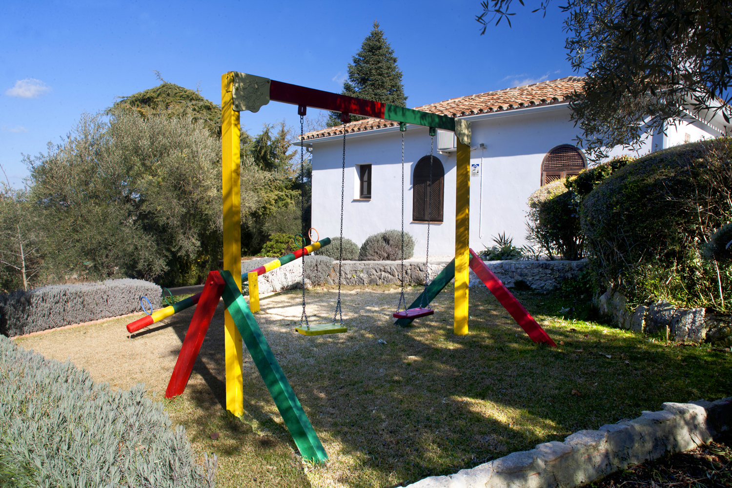 swings holiday villa spain