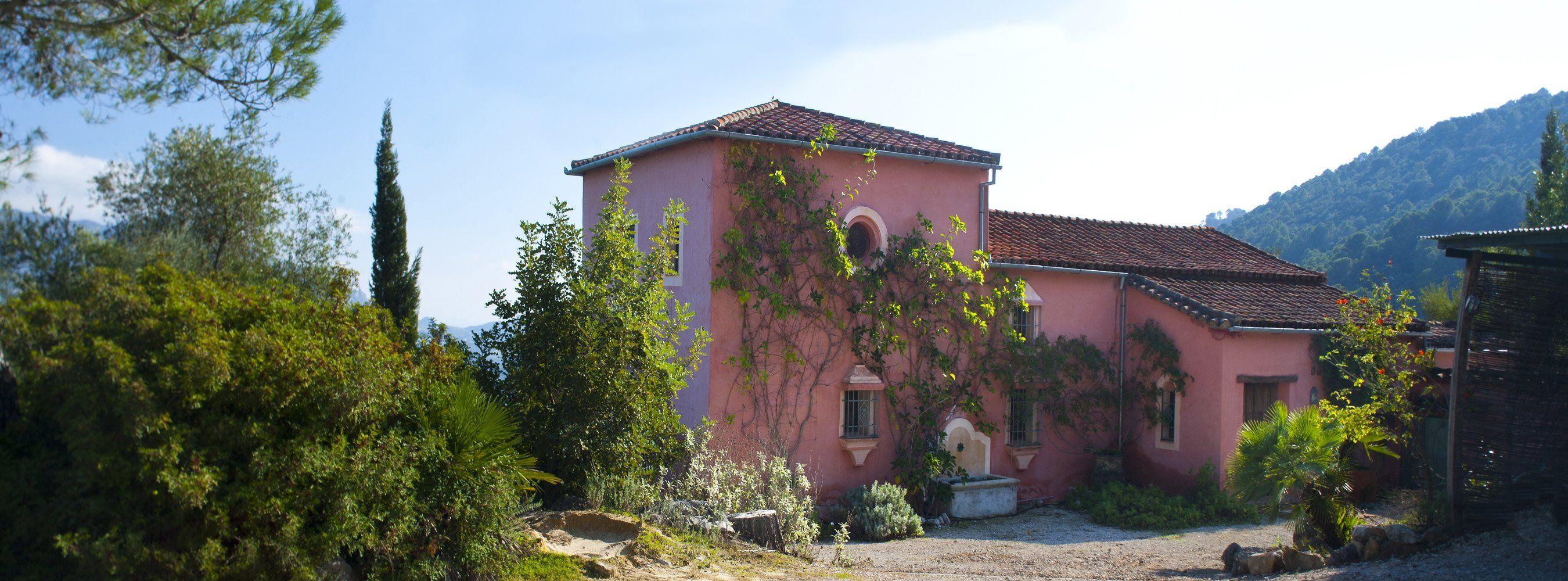 north facade gaucin villa
