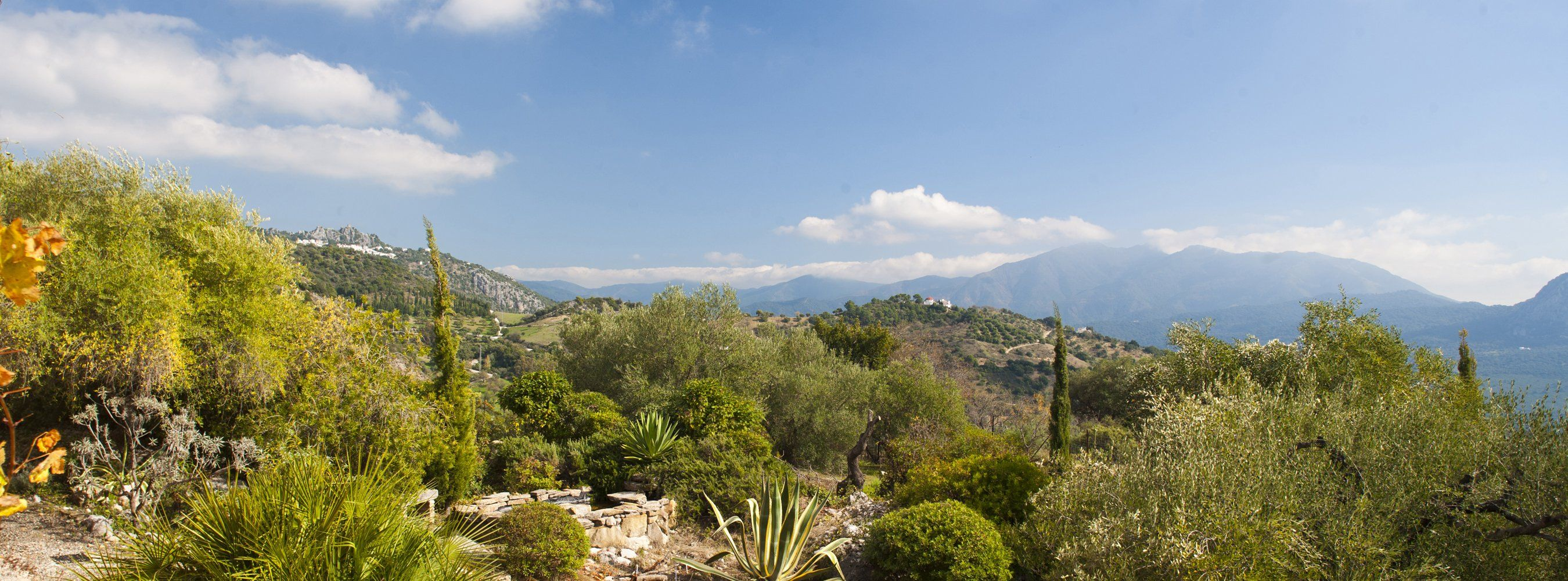 view from gaucin villa