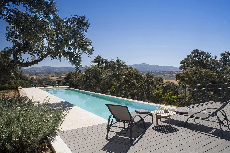 pool at luxury villa spain