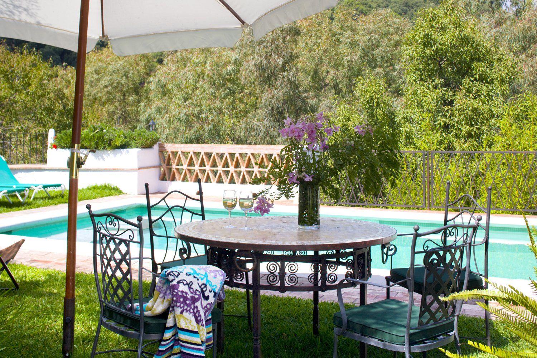 shade and pool
