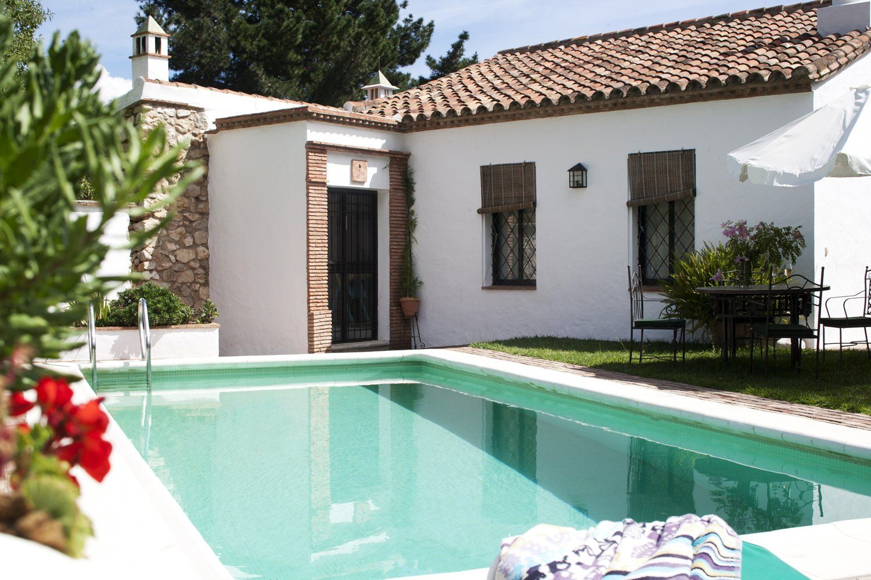 swimming pool at villa