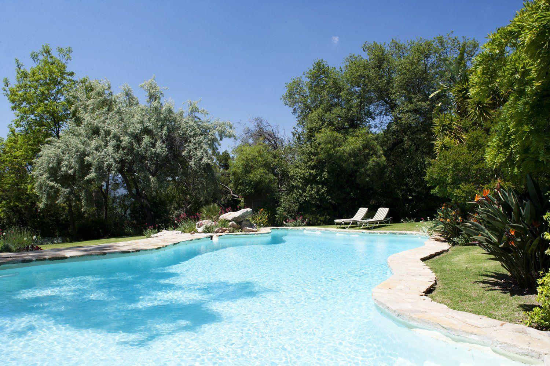 very large swimming pool