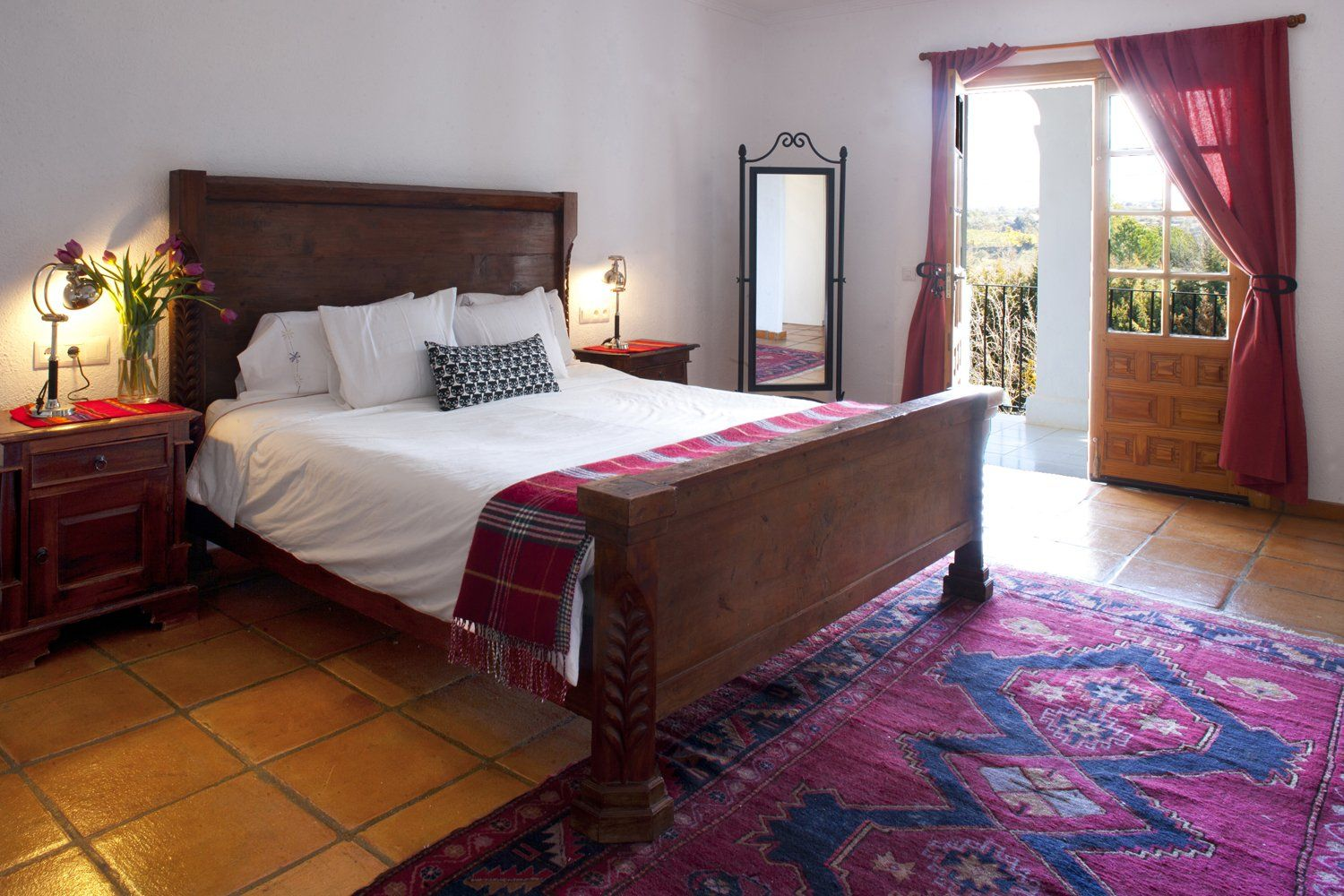 bedroom with view ronda