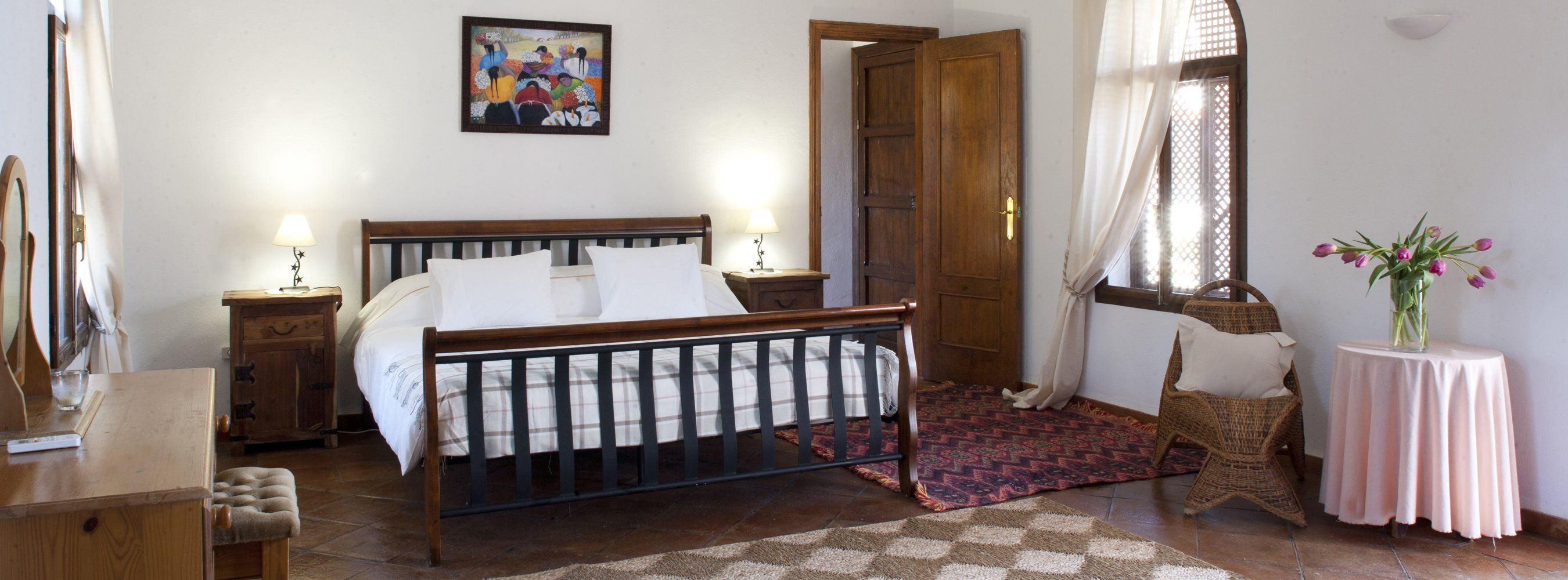bedroom andalucia villa