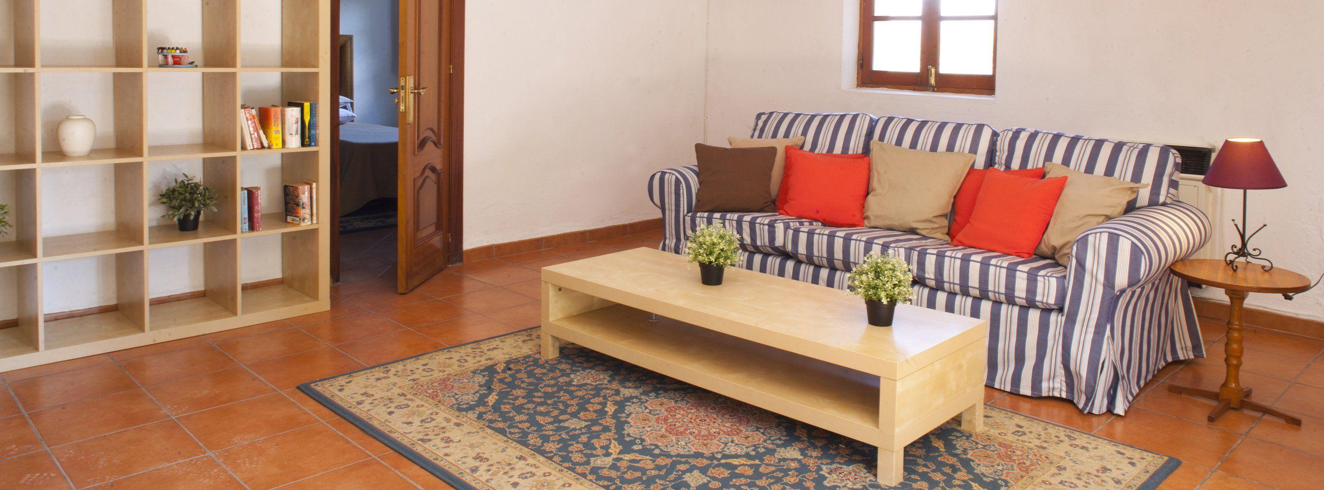 sofa  downstairs villa ronda