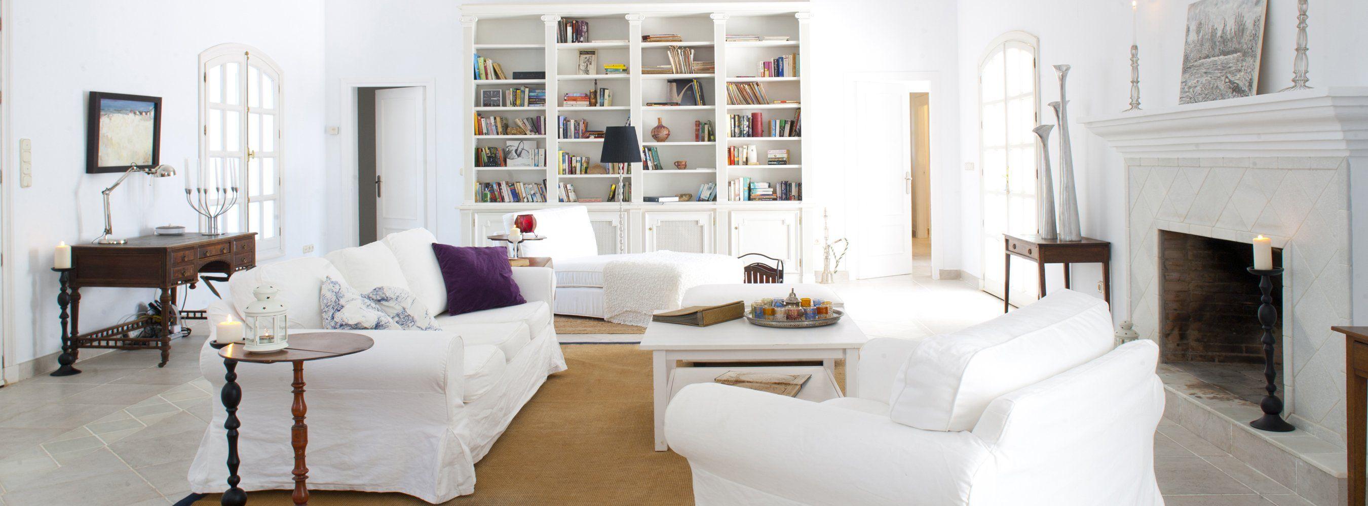 villa sittingroom andalucia