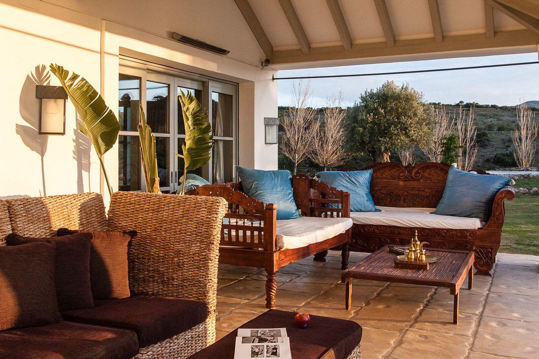 outside terrace luxury villas andalucia