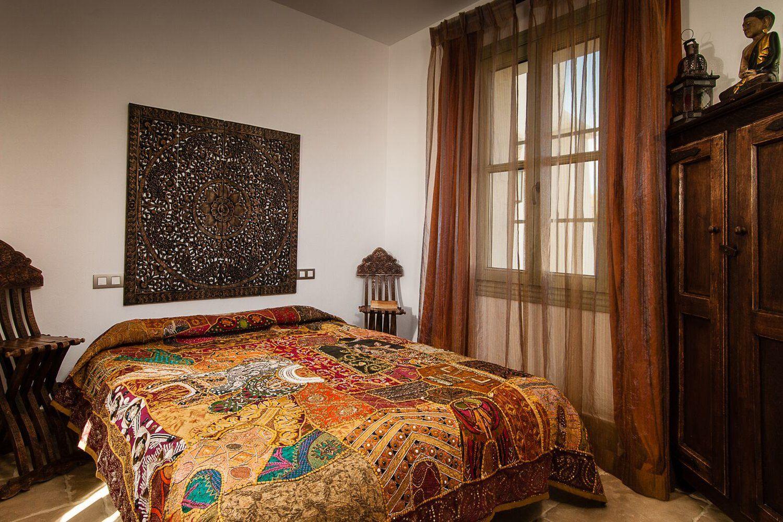 bedroom three luxury holiday villa andalucia