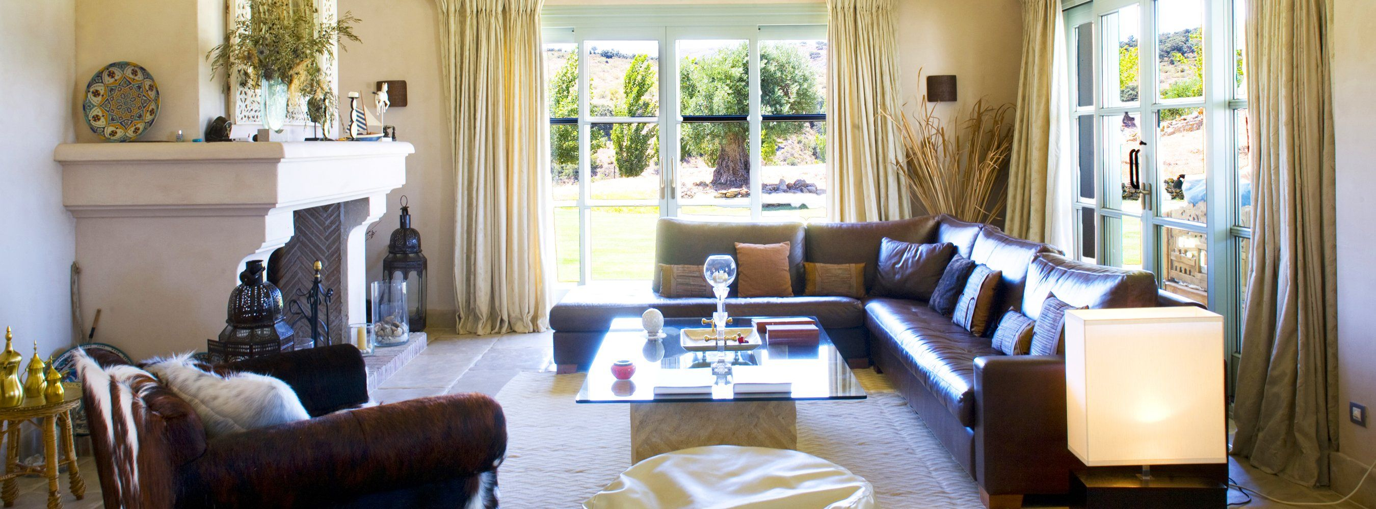 sitting room luxury villas andalucia