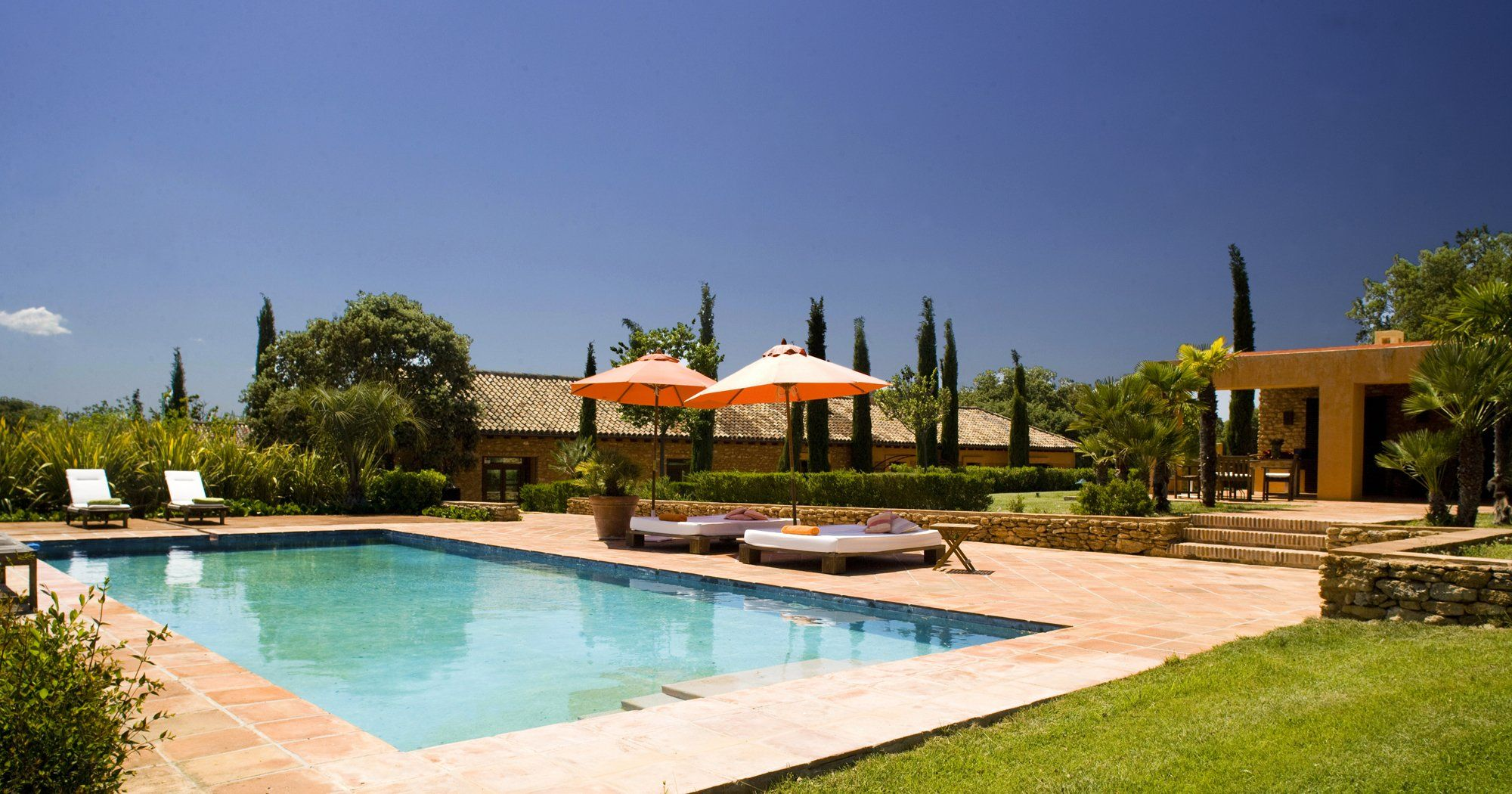 luxury villa ronda andalucia pool
