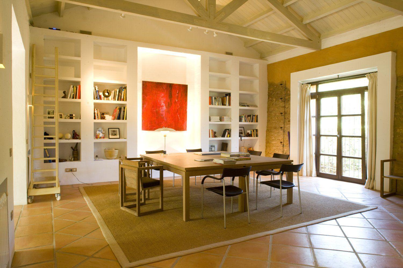 study area in villa