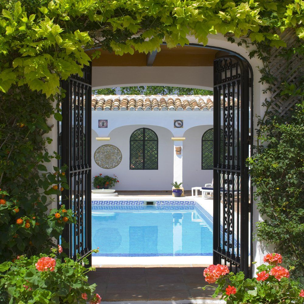 view to pool ronda andalucia