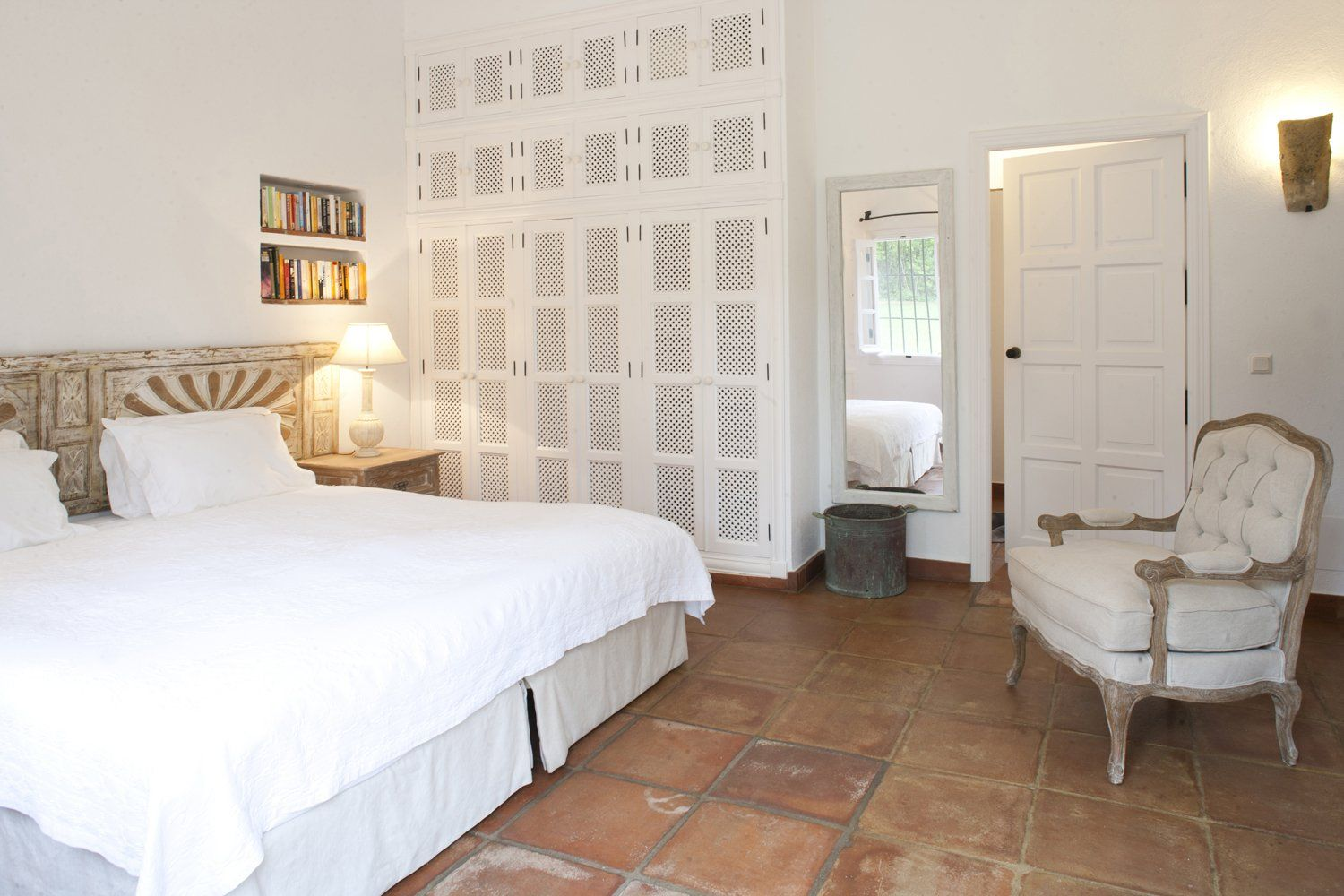 bedroom in ronda luxury