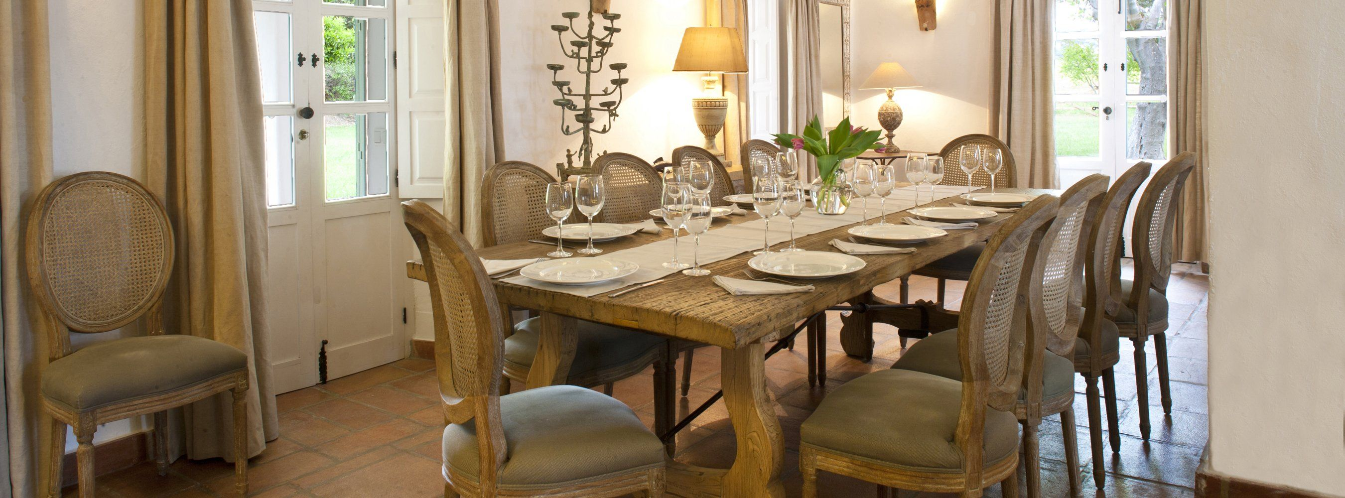 luxury dining experience in ronda villa