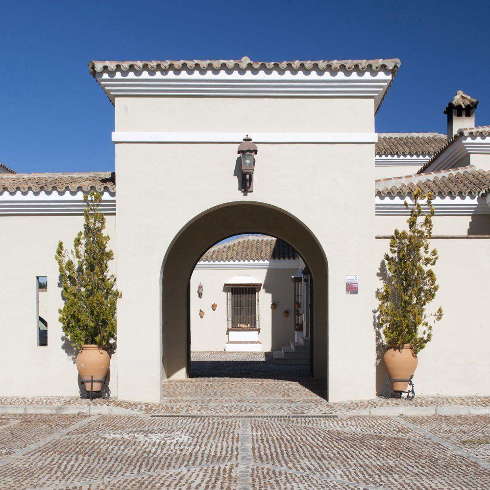 entrance villa ronda