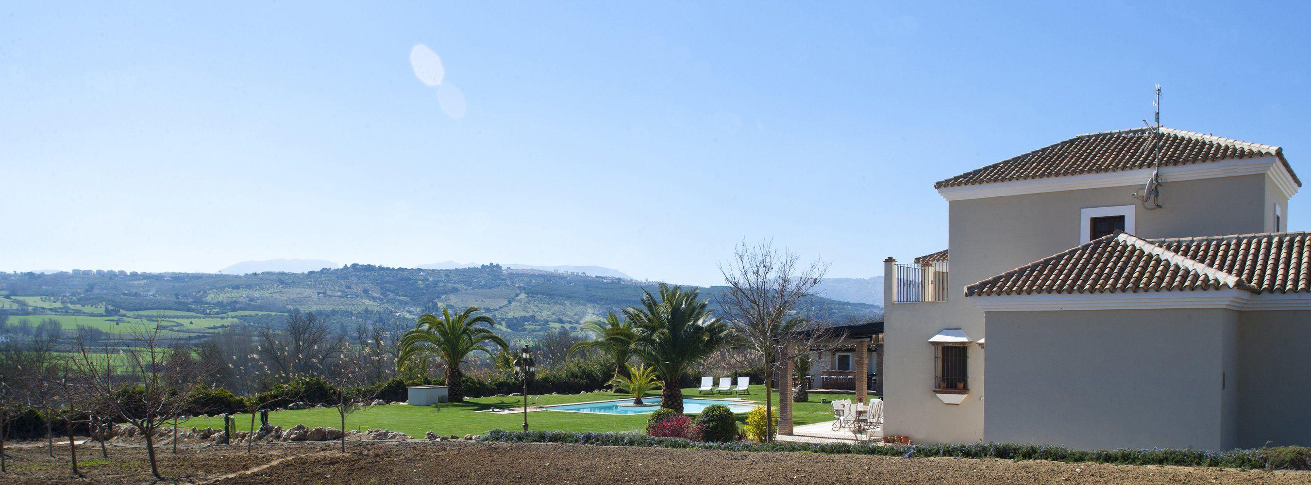 garden and view ronda