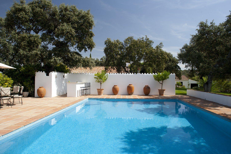 large pool at luxury villa