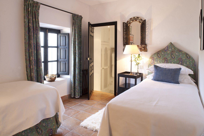 twin bedroom el ventorillo