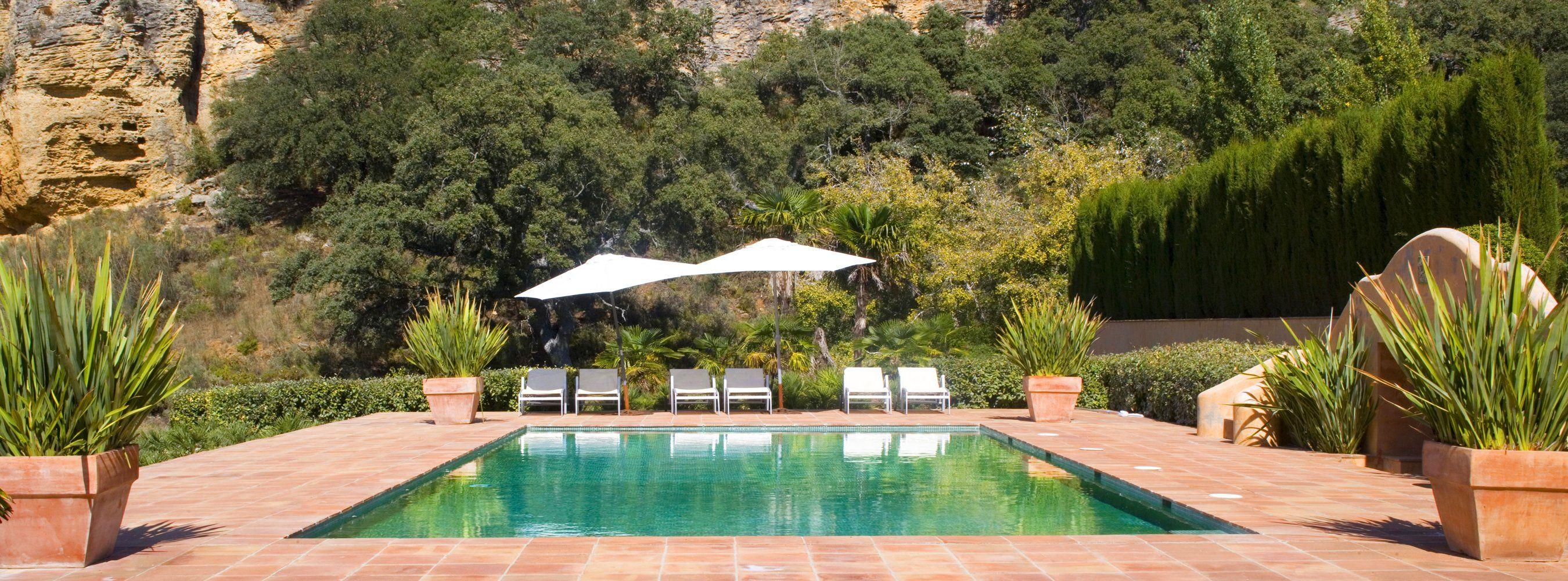 huge pool andalucia