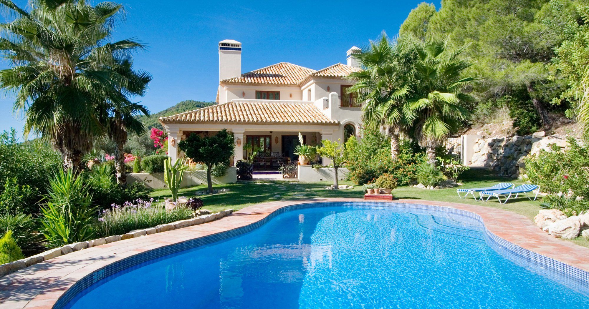 luxury holiday villa gaucin