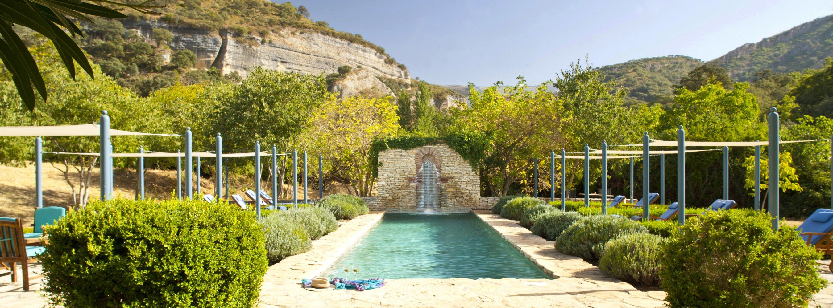 pool at luxury villa ronda