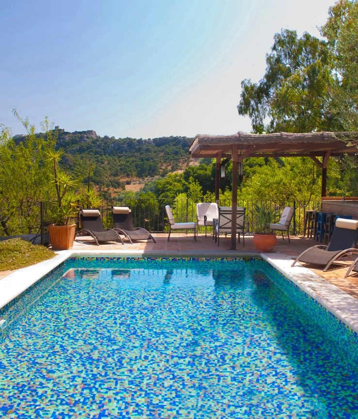 villa with private swimming pool gaucin