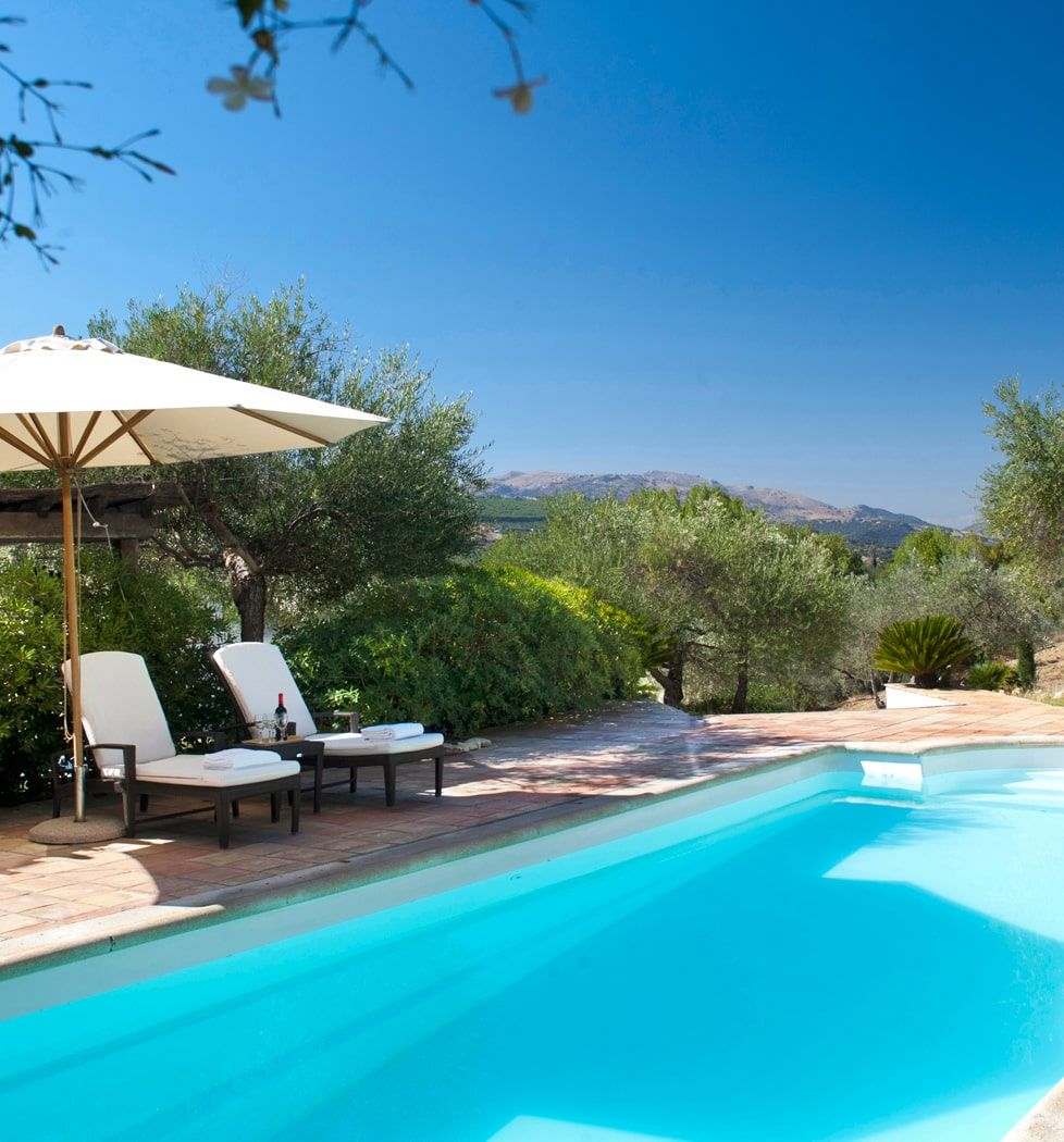 luxury villa pool spain