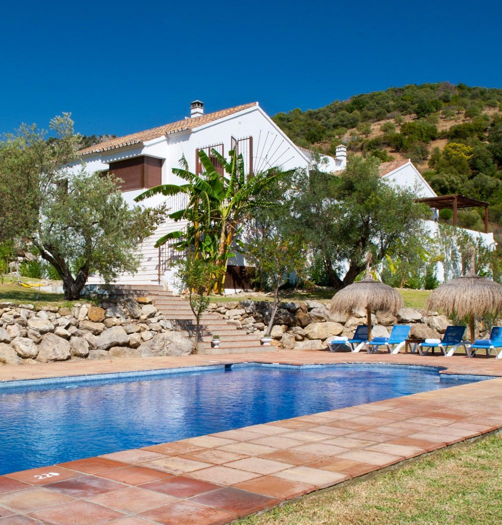luxury villa with private pool spain