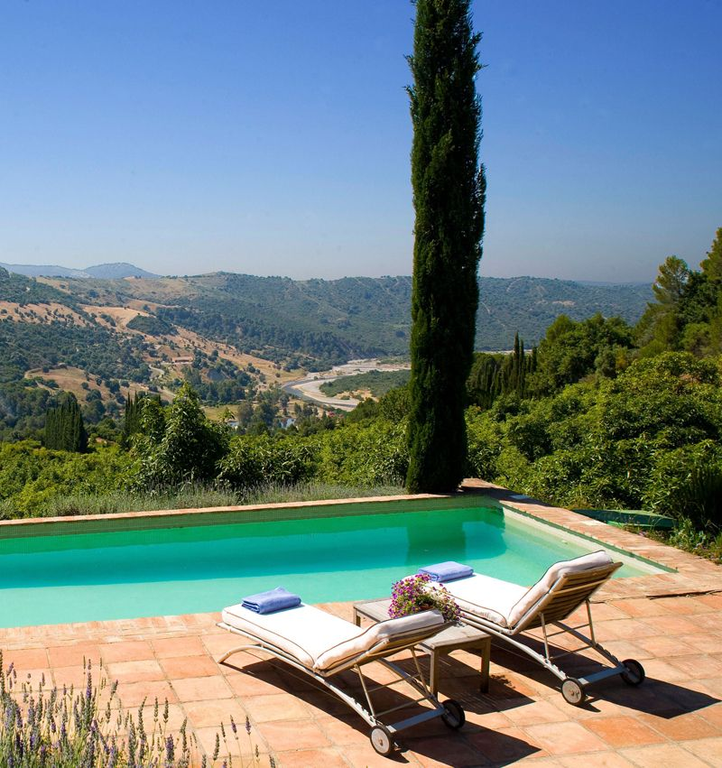 villa with views in andalucia