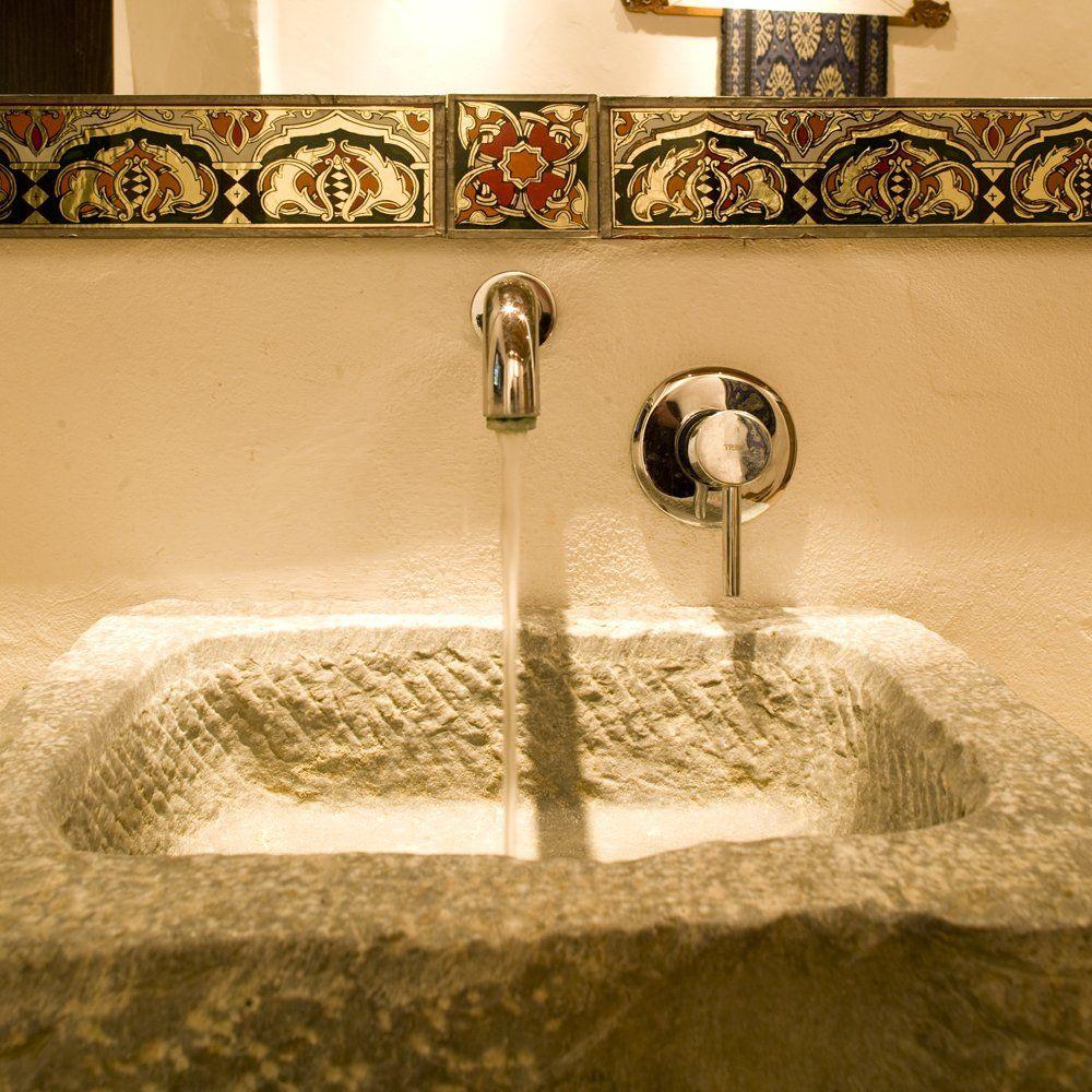 basin in cloakroom