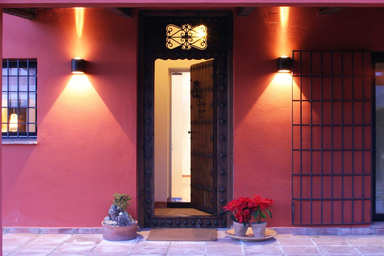 entrance villa andalucia