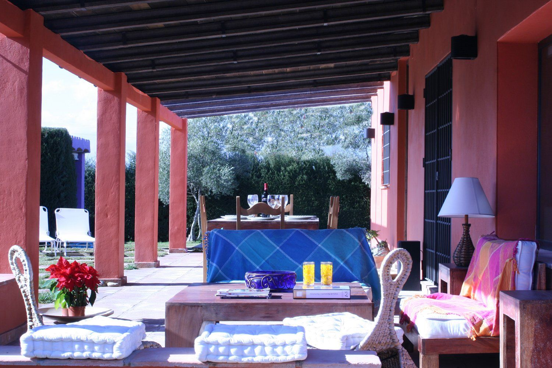 covered terrace ronda