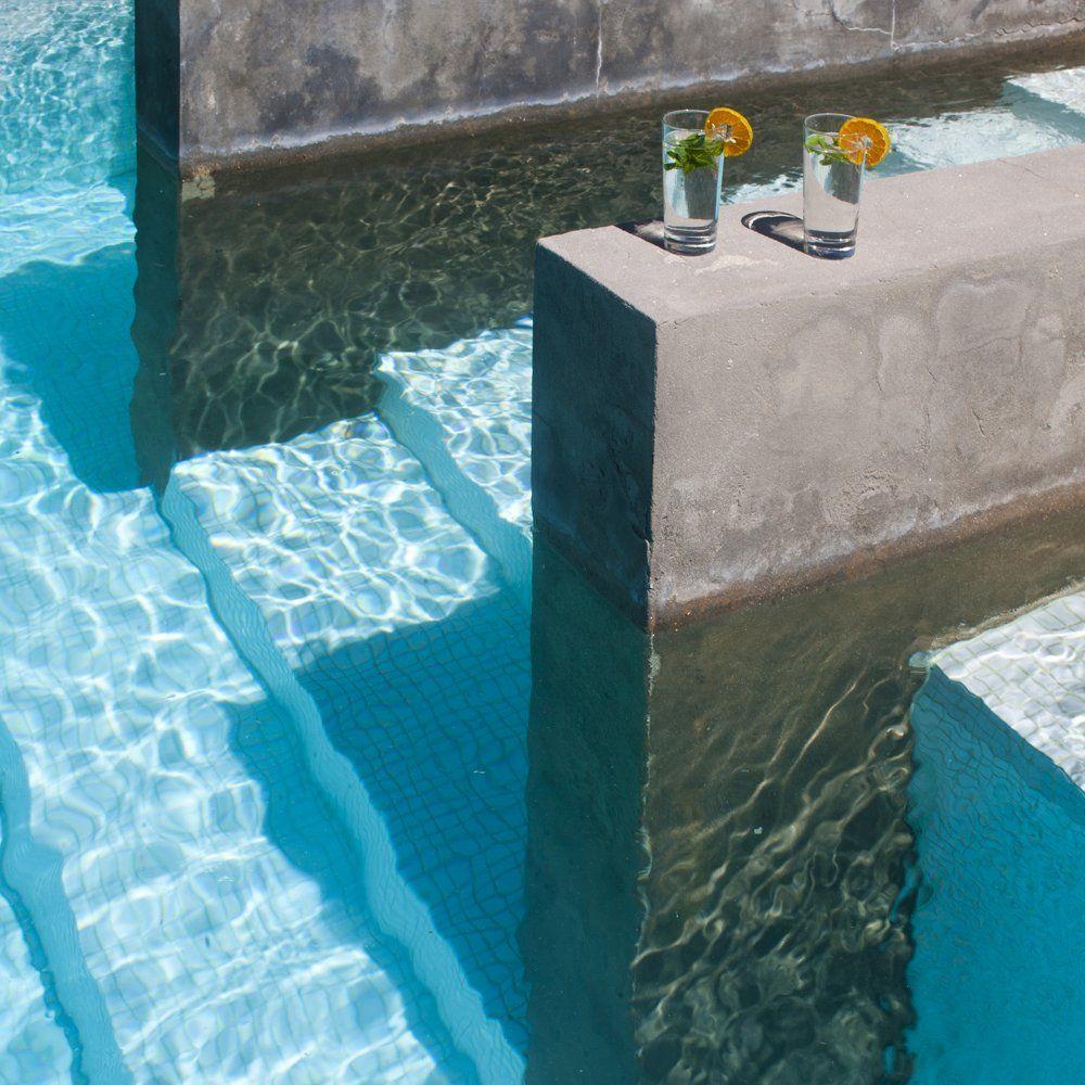 drinks by the luxury villa ronda
