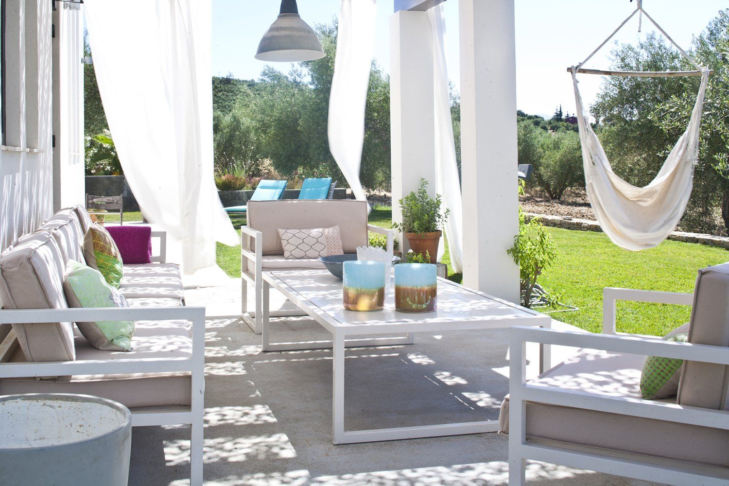 terrace outdoor villa andalucia
