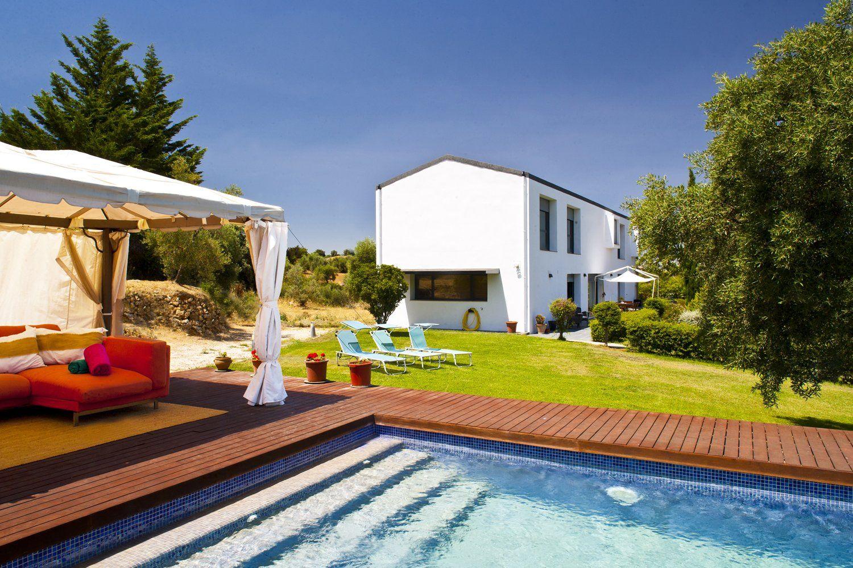 pool and facade ronda andalucia