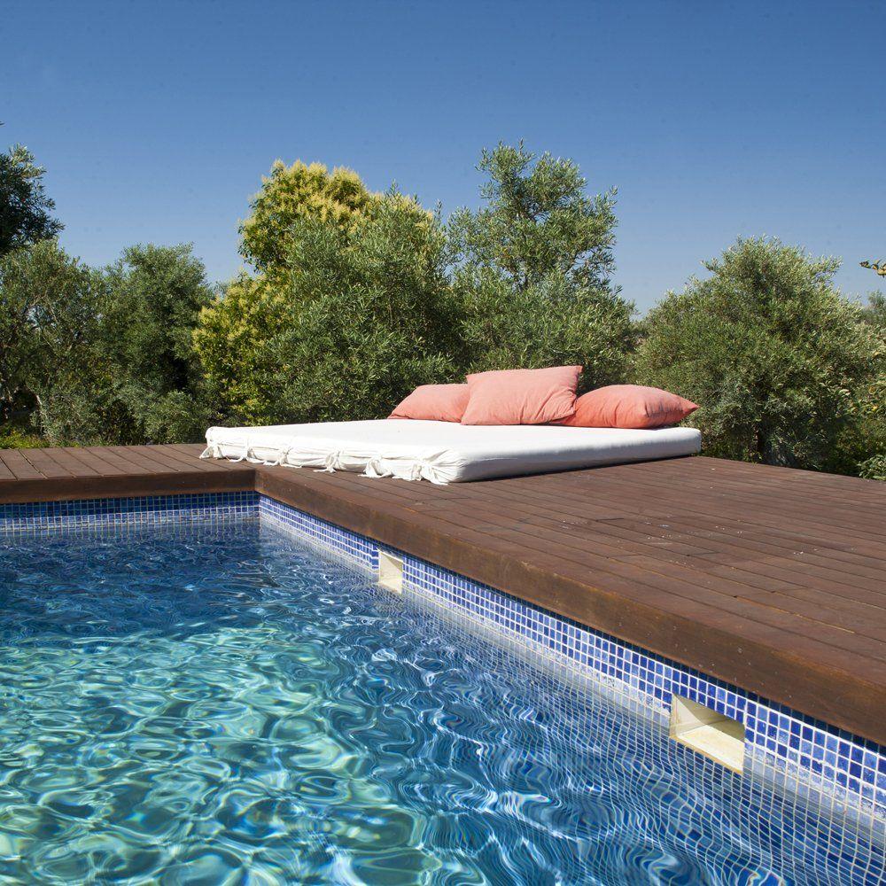 pool and sunlounger ronda villa