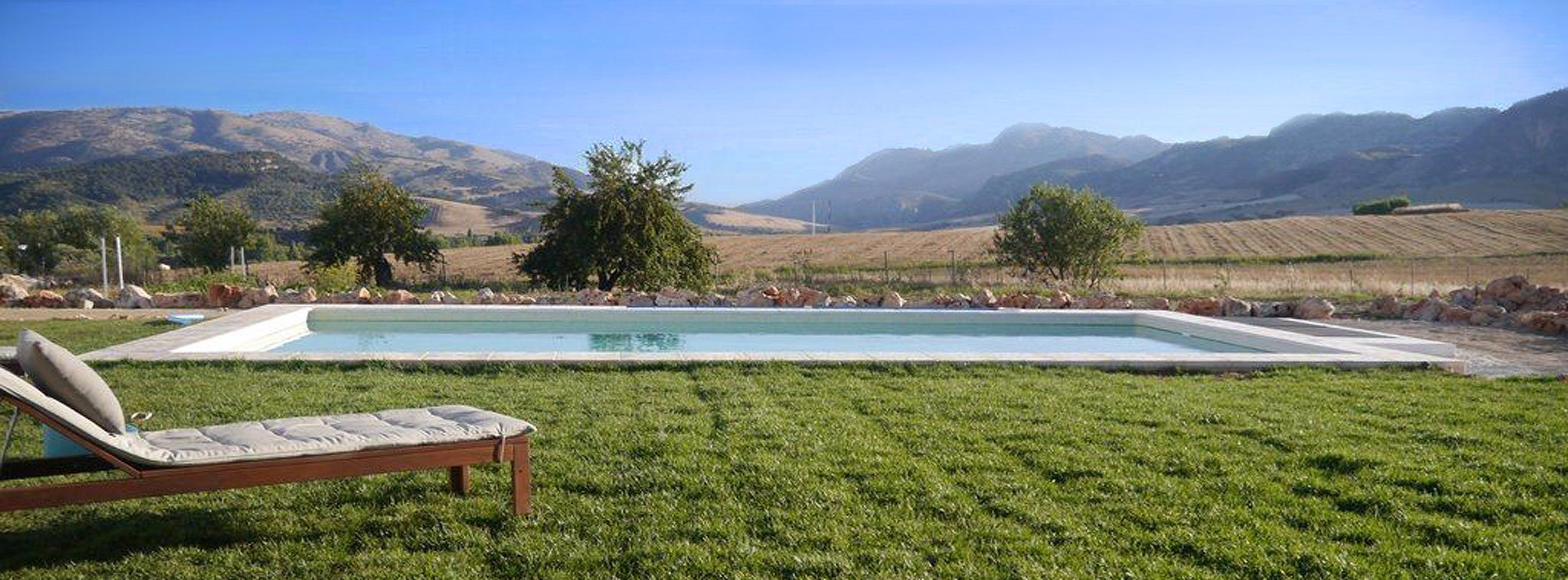 pool and view andalucia