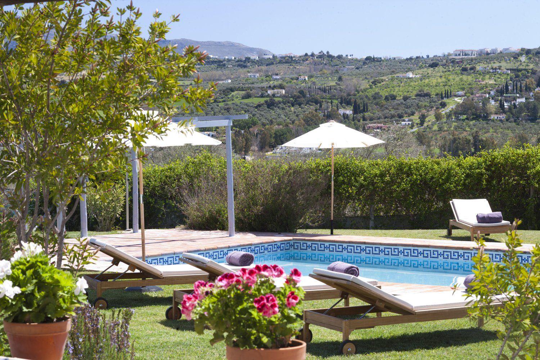 pool and view ronda villa