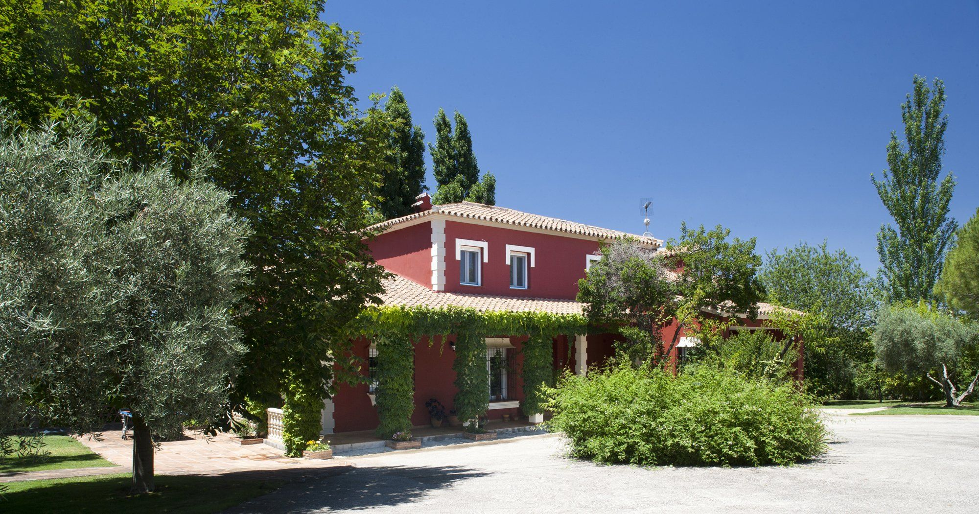 family holiday home in mature garden | ronda | spain