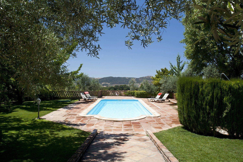 pool and garden ronda