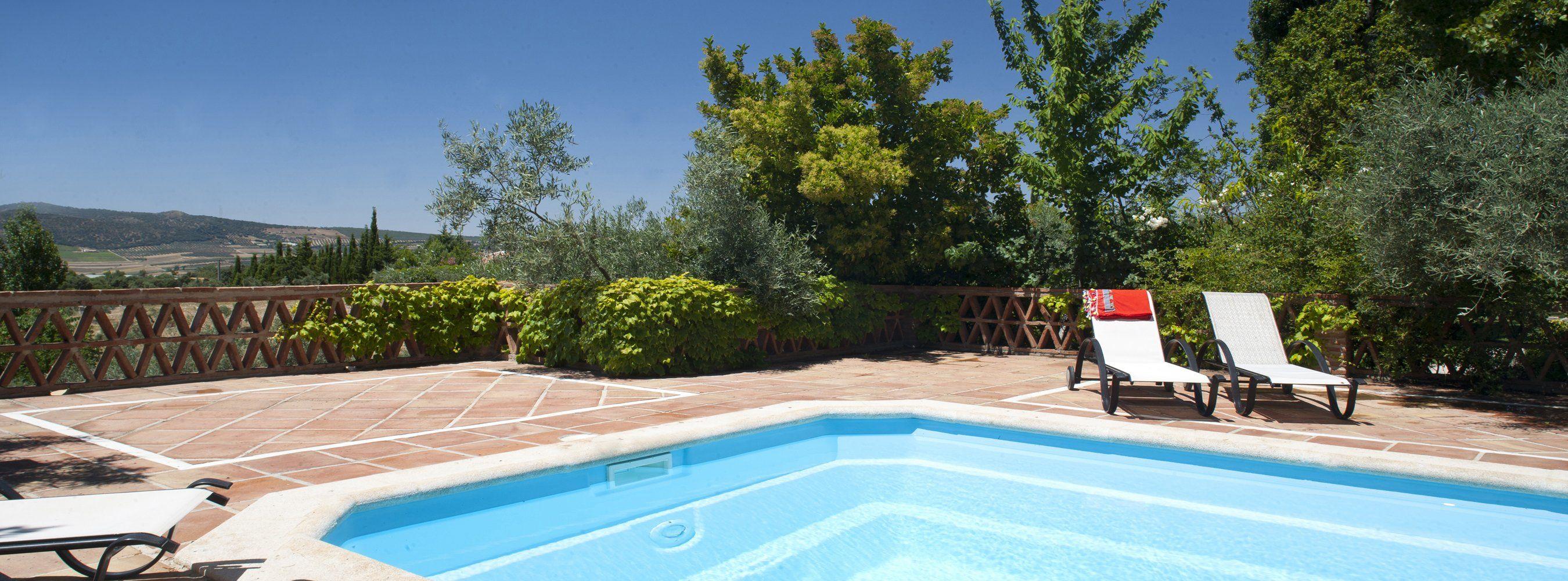 pool and view ronda villas