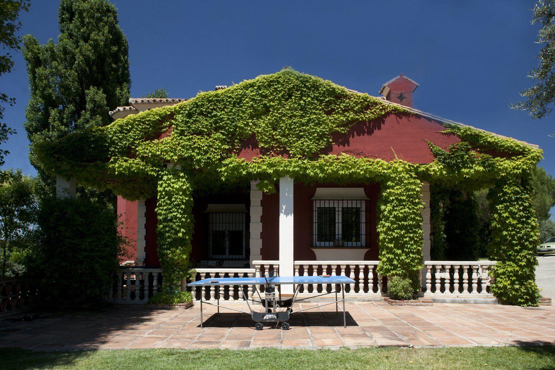 covered terrace ronda villa