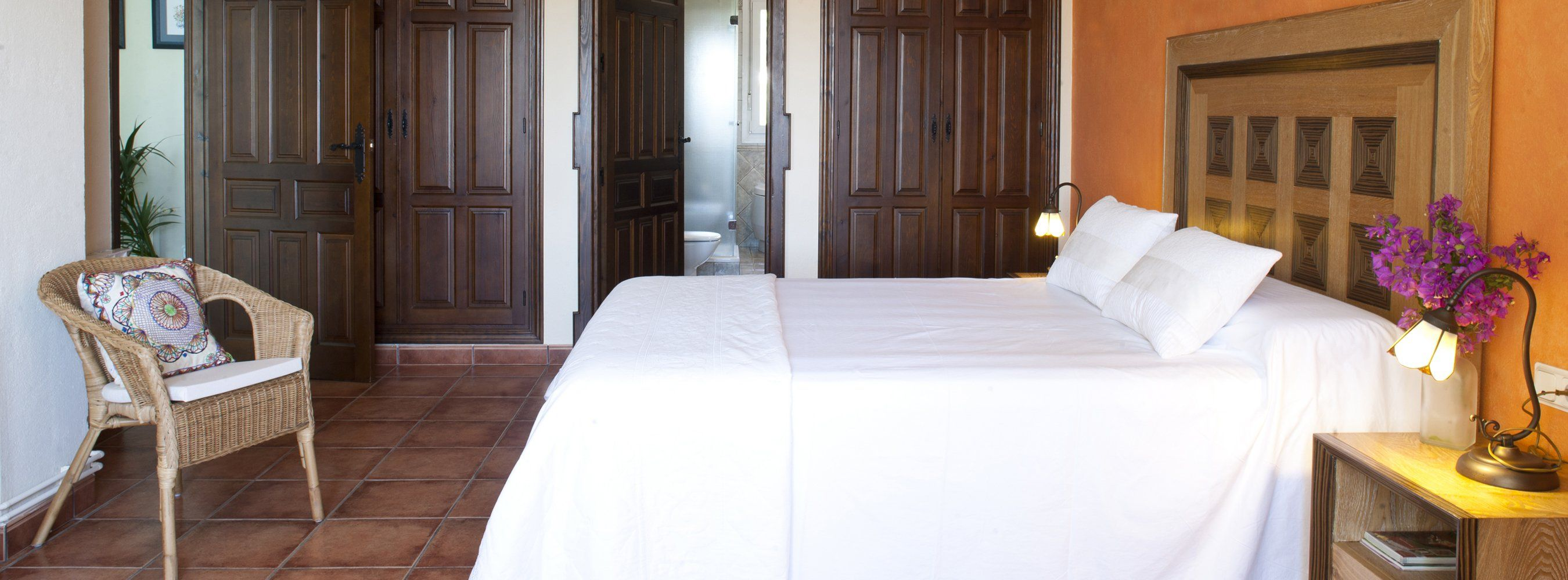 bed in ronda villa