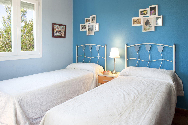 twin bedded room ronda